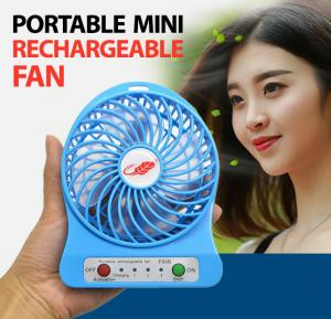 Portable Mini Rechargeable Fan