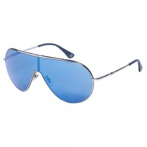 Police SPL964 Aviator Silver Sunglasses for Unisex, Size 99