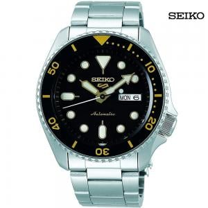 Seiko Men Analog Black Dial Watch, SRPD57K1
