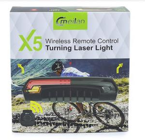 Cmeilan X5 Wireless remote control Turning Laser Light