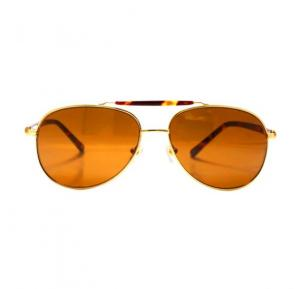 Aigner Aviator Havana Frame & Brown Mirrored Sunglasses For Men - AI-SM-03A