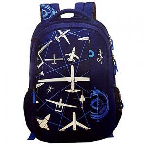 Skybags Unisex Blue Backpack, BPFIG3BLU