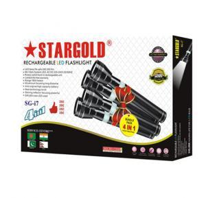 Stargold 4 in 1 Rechargeable LED Flashlight SG-i7