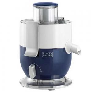 Black and Decker Juice Extractor 4Ltr JE350-B5, Blue/White