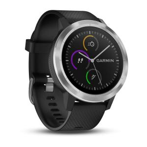 Garmin vivoactive 3 black silicone with stainless steel 010-01769-03