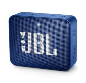 JBL Go 2 Portable Waterproof Bluetooth Speaker, Blue