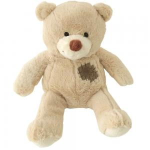 Nicotoy Bear with Patch 25cm, 6305830718