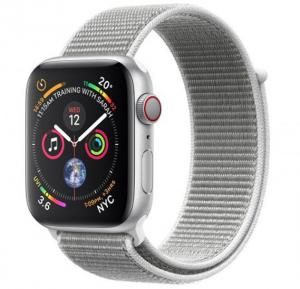 Apple Watch Series 4 44mm GPS + Cellular MTVT2, Seashell Sport Loop