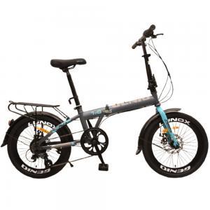 Genio 2.0 Folding Bicycle, Grey