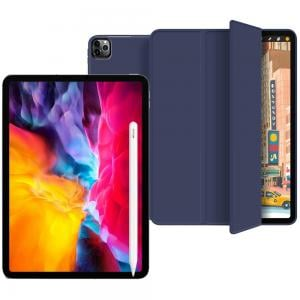 3 in 1 Bundle offer Apple iPad Pro 2020 (2nd Generation) 11inch 128GB, Wi-Fi With FaceTime Space Gray, Apple Pencil Compatible with iPad PRO 11Inch & 12.9Inch with IPad Pro 11 Inch Premium Trifold Case, Blue