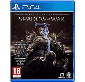 Warner Bros Middle Earth Shadow of War For PS4