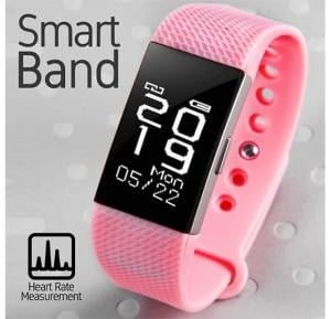 NFS2 Cubes Smart Band Fitness Tracker With Activity & Heart Rate Measurement Waterproof
