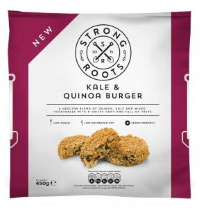 Strong roots Kale & Quinoa Burger, 20007