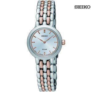 Seiko Womens Analog Stainless Steel Watch, SUP351P1