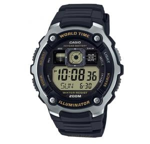 Casio AE-2000W-9AVDF Youth Combination Digital Black Dial Mens Watch