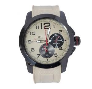 Decambridge Analog Watch For Men Brown Black - 7553D