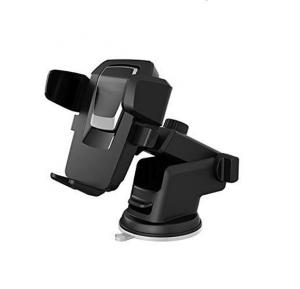 Easy One Touch Car & Desk Mount Strong Adhesive Universal Phone Holder For Smartphones Under 6.5 Inches