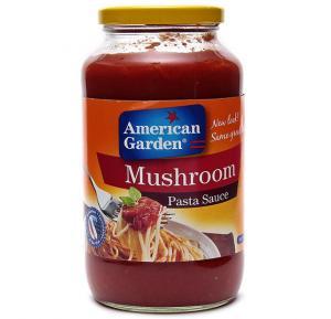 American Garden Pasta Sauce Mushroom 24 OZ