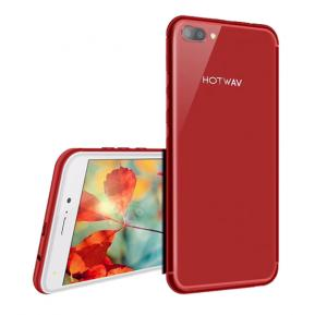 Hotwav Cosmos V8 Lite Smartphone, Android, 5.5 Inch Display, 1GB RAM, 8GB Storage, Dual Camera, Wifi, 4G LTE - Red