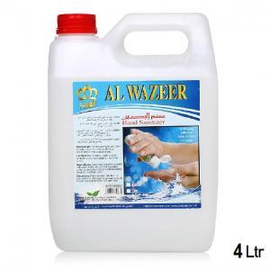 Al Wazeer Antibacterial Hand Sanitizer 4 Ltr