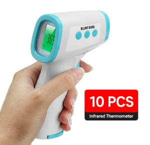 Blunt Bird DN-998 LCD Digital Non Contact Infrared Thermometer,  10 piece Pack