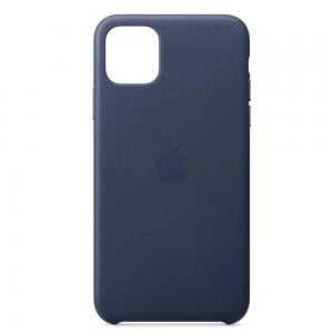 Apple IPhone 11 Pro Max Leather Case MX0G2ZM/A - Midnight Blue