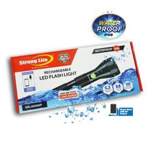 Strong Lite SRL400WP Waterproof Flash Light 4000 Mah