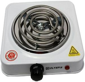 Olympia Electric Cooking Single Hot Plate 1500 Watts, OE-30