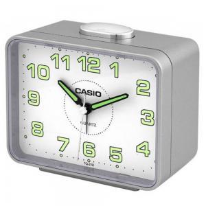 Casio Analog Alarm Clock, TQ-218-8DF