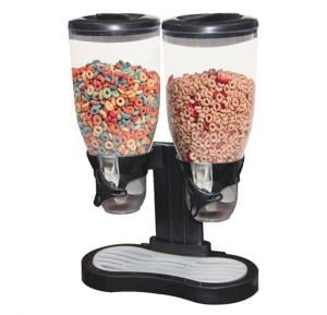 Orbit Double Cereal Dispensers, HHNE7827 - Black
