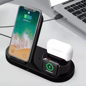 H10 3 In 1 Wireless Charger For iPhone, Apple Watch, AirPods and other Android Smart Phones
