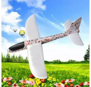 Foam Hand Throw Launch Glider Air Plane Friendly kids Water Toy