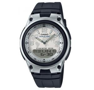 Casio Dual Time Analog/Digital Watch AW-80-7A2VDF
