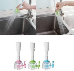 Adjustable Aerator Swivel Water-saving Faucet Extend with Valve Shower Head for Kitchen Sink