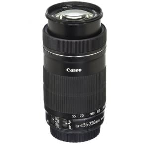 Canon EF-S 55-250mm F4-5.6 IS STM Telephoto Zoom Lens For Canon SLR Cameras