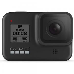 GoPro Hero 8 Waterproof Action Camera with Touch Screen 4K Ultra HD Video 12MP, Black