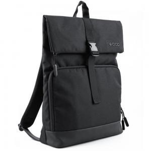 Eloop B2-D002 City B1 Waterproof 15 inch Laptop Backpack, Black