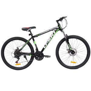 MTB Carbon Steel Mountain Bike With 21 Multi Speed Disc Brakes, 27.5 Inches