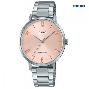 Casio LTP-VT01D-4B2UDF Analog Watch For Women, Silver