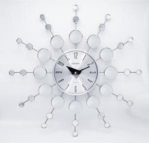 Orient spider clocks metal/glass, OC-T-2707