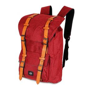 OKKO Casual Backpack, 18 Inch, Red.