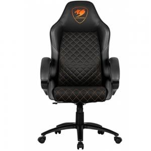 Cougar Fusion Gaming Chair Black, 3MFUBNXB0001