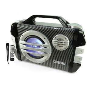 Geepas Rechargeable & Portable Speaker-GMS8562