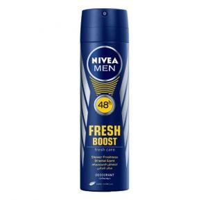 NIVEA Deo Spray Fresh Boost Spray For Men 150 ML