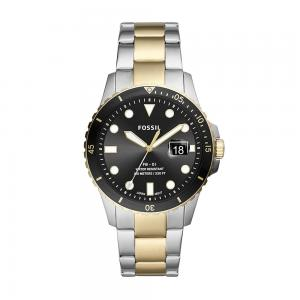 Fossil Analog Black Dial Gents Watch, FS5653