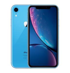Apple iPhone XR, Dual SIM, 128GB, 3GB RAM, 4G LTE, Blue.