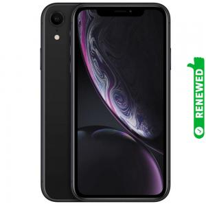 Apple iPhone XR With FaceTime Black 128GB 4G LTE Renewed- S