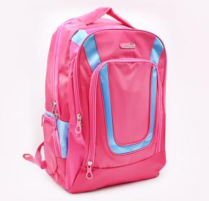 Oxford Gear 18 Inch School Bag - Pink