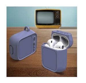Apple Airpot Case TV Shape, Purple