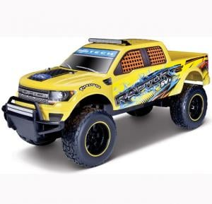 Maisto Tech R/C 1:6 2014 Ford F150 SVT Raptor 24GHz With Batteries & Charger Yellow - 81601